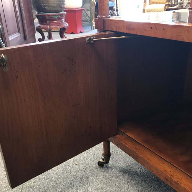 Two Tier Wooden Bar Cart - Image 7 of 9
