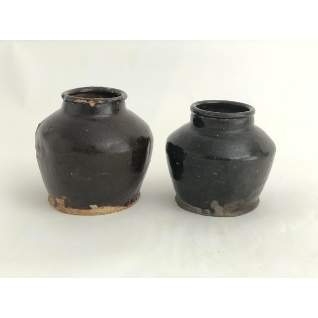 Late 19th Century Antique Chinese Shanxi Pot For Sale - Image 5 of 7