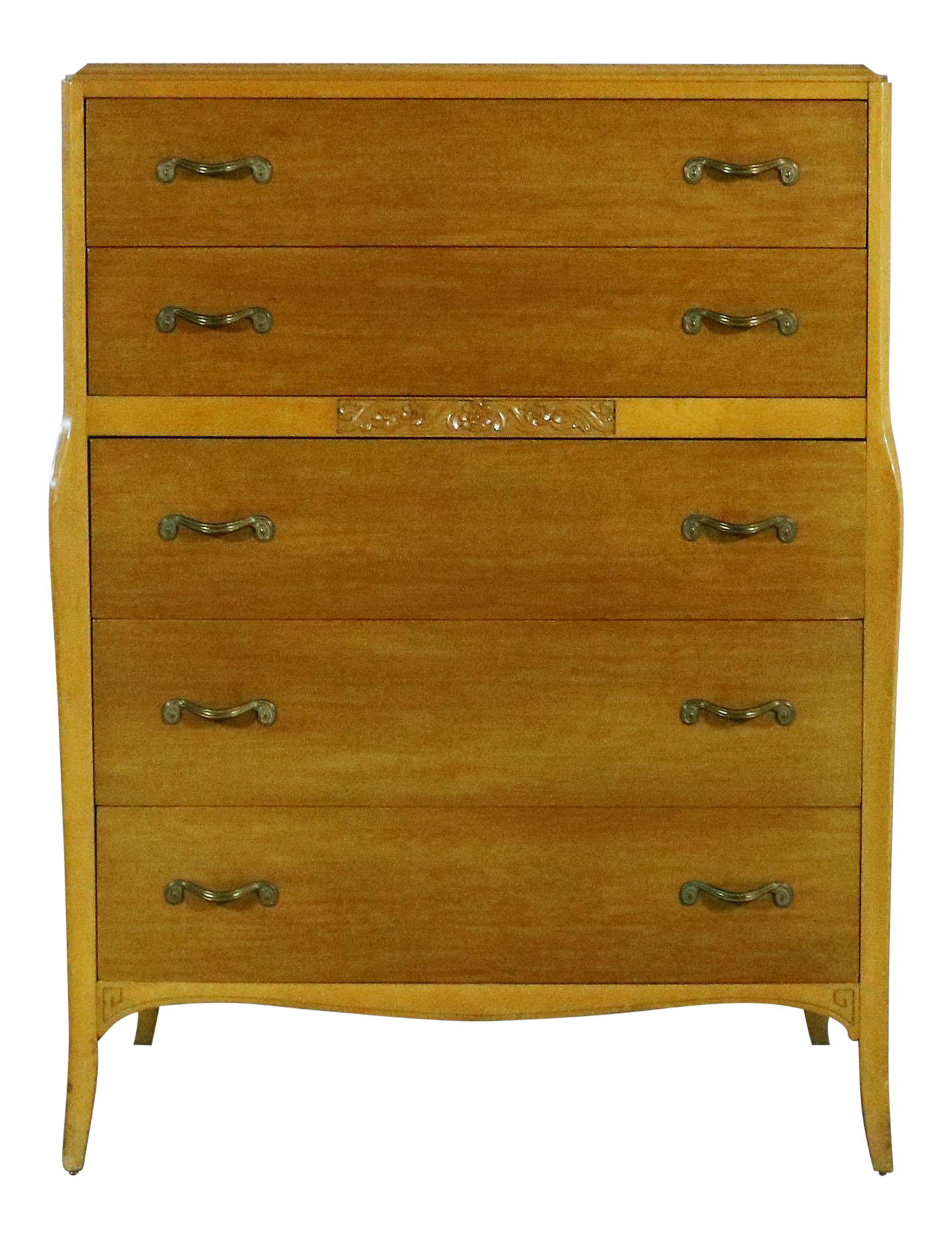 Bon Art Deco Style Tall Chest Of Drawers By Rway Northern Furniture Company Of  Sheboygan