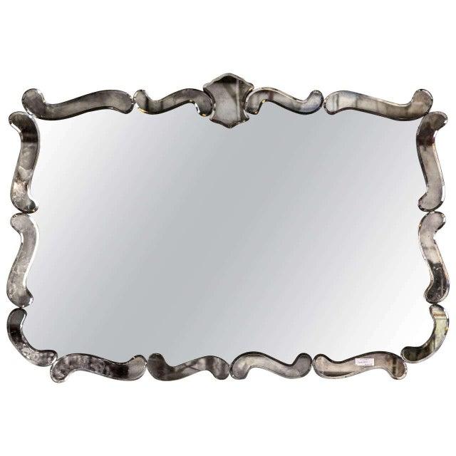 Vintage Art Deco Mirror - Image 1 of 5