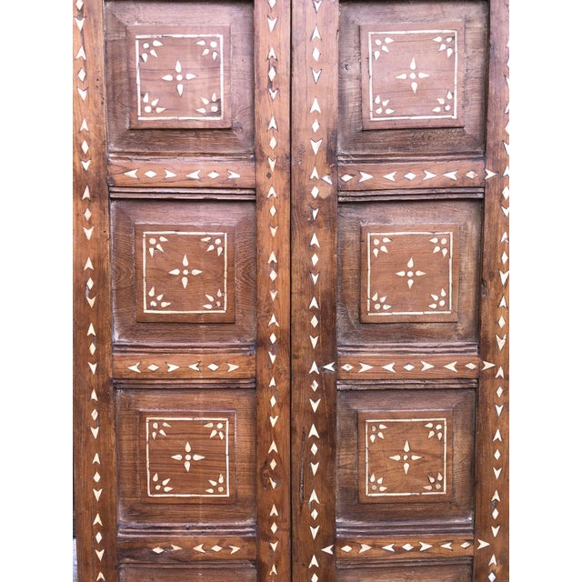 Late 19th Century Antique Bone Inlay Door For Sale - Image 5 of 8
