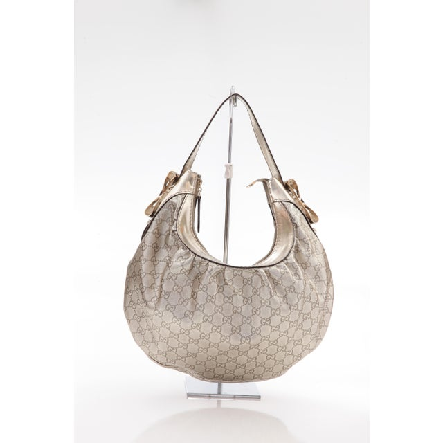e1cb2cea4d6 Contemporary Late 20th Century Vintage Gucci Bree Guccissima Hobo Bag For  Sale - Image 3 of