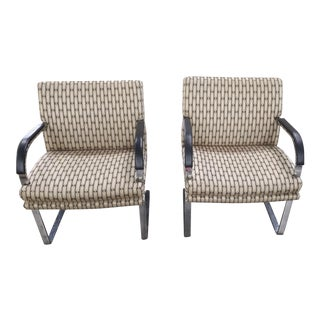 England Side Chairs by Fortress Inc - A Pair For Sale