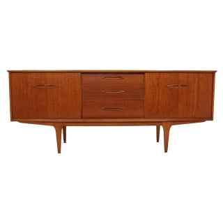 Mid Century Teak Credenza by Jentique For Sale