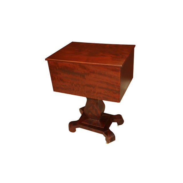 American Empire Style Side Table For Sale - Image 4 of 11