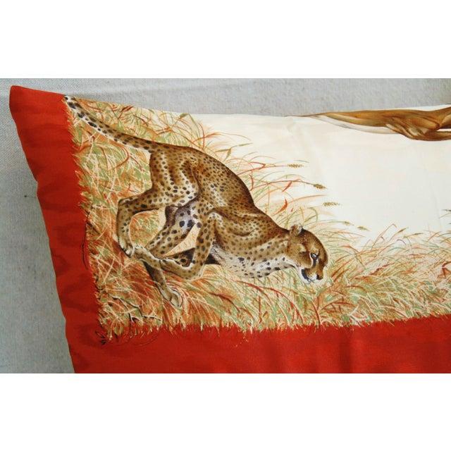 Custom Hermes Robert Dallet Safari Kenya Pillow - Image 10 of 11
