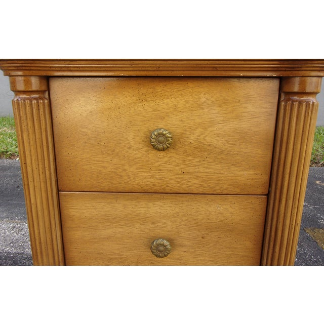 Vintage 2-Drawer Regency Style Nightstands - Pair - Image 7 of 10
