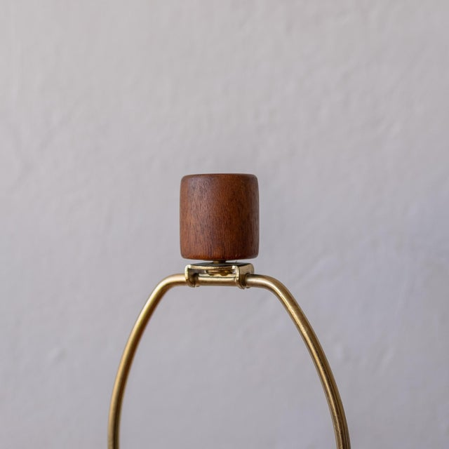 Wood Jane and Gordon Martz Wood Lamp For Sale - Image 7 of 8