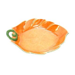 Vintage P.A.L.T. Czechoslovakian Pumpkin Plate For Sale