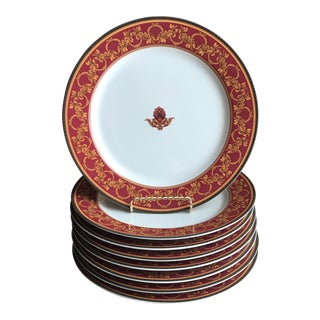 "Raymond Waites ""Ancient Kingdom"" Dinner Plates - Set of 8"