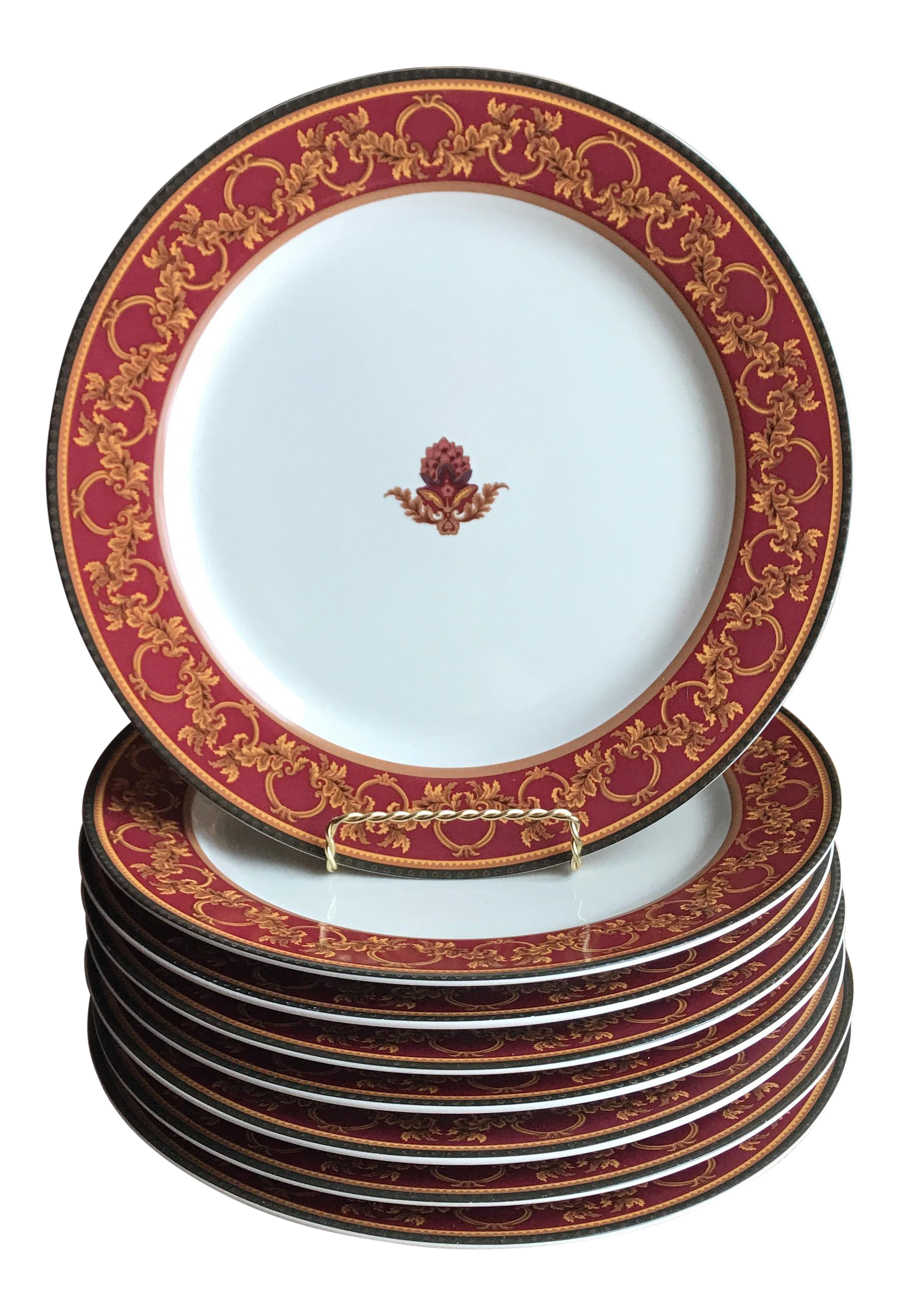 Raymond Waites  Ancient Kingdom  Dinner Plates - Set of 8  sc 1 st  Chairish & Raymond Waites