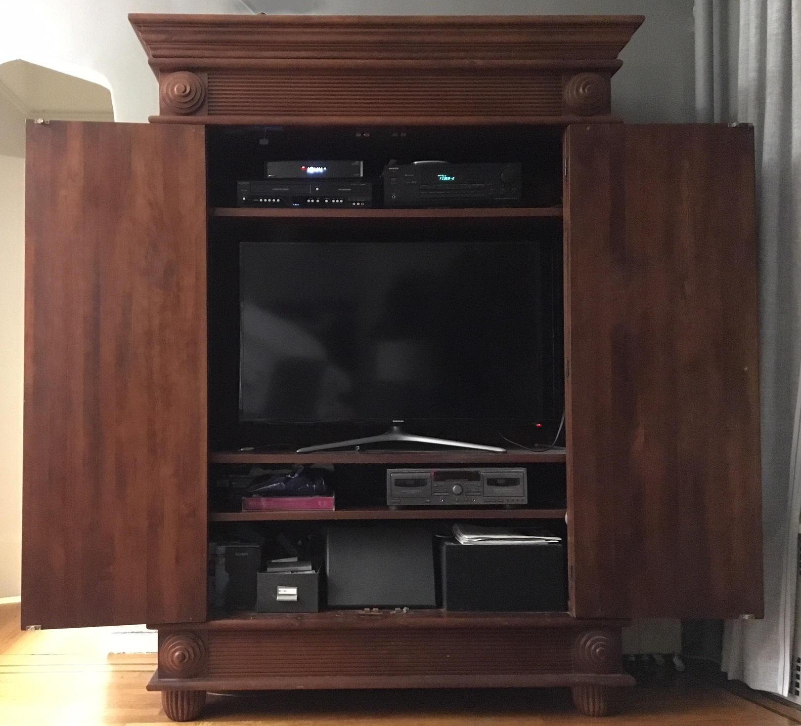 TV ARMOIRE: Gorgeous, One Of A Kind (for Up To