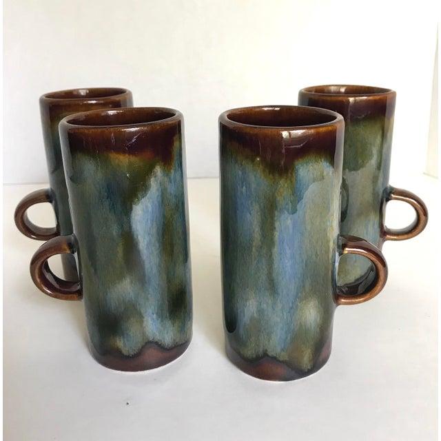 Boho Chic Caffe d'Vita Espresso Mugs - Set of 4 For Sale - Image 3 of 4