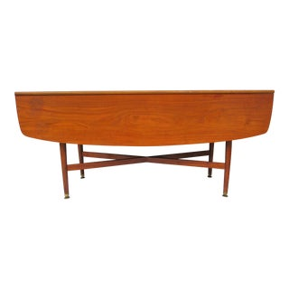 Kipp Stewart for Drexel Drop Leaf Dining Table