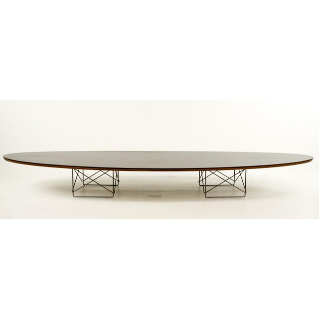 Eames Surfboard Coffee Table.Mid Century Modern Eames Metal Surfboard Coffee Table