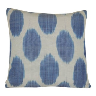 Contemporary Ikat Pillow Cover For Sale