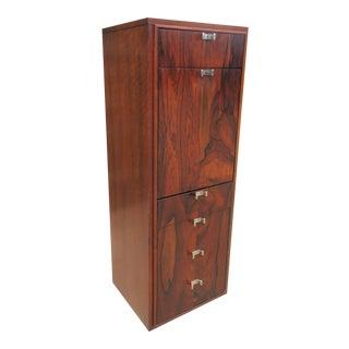 Mid-Century Modern Milo Baughman Attributed Liquor Cabinet