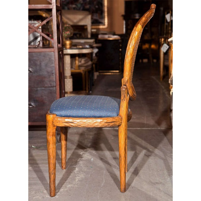 French Louis XIV Style Caned Side Chairs - Pair For Sale - Image 7 of 8