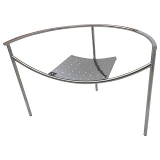 Philippe Starck Doctor Sonderbar Chrome Chair For Sale