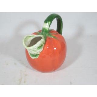 1980s Vintage Ceramic Tomato Pitcher Preview