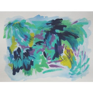 """Tropical Harmony"" Abstract Painting by Cleo"