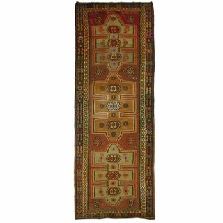 Vintage Turkish Kars Kilim- 4'1'' x 11'6''