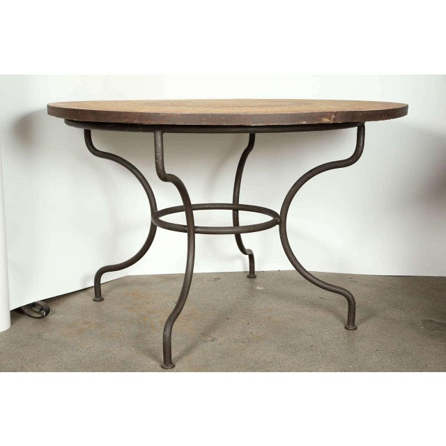 Moroccan Marble and Stone Mosaic Table Indoor or Outdoor For Sale - Image 10 of 10