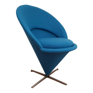 "1970s Vintage Verner Panton ""Cone"" Chair For Sale"