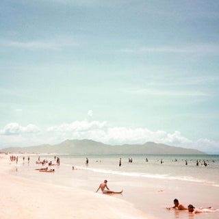 Vintage 1960s Beach Cam Ranh Bay, Vietnam I Photograph Print For Sale
