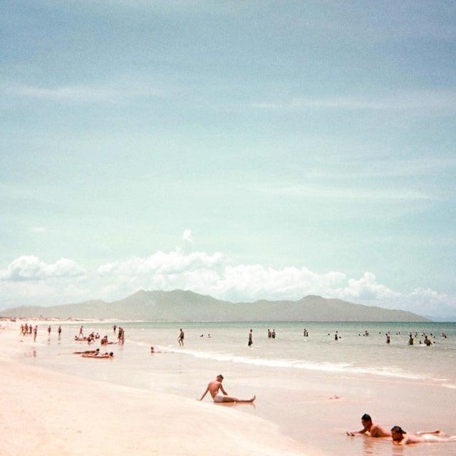 Vintage 1960s Beach Cam Ranh Bay, Vietnam I Photograph Print For Sale