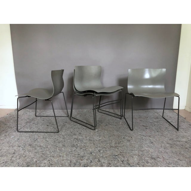 """Massimo Vignelli for Knoll """"Handkerchief"""" Chairs - Set of 4 For Sale - Image 12 of 12"""