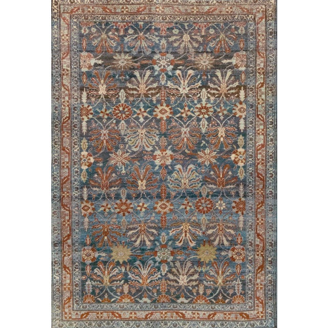 Late 19th Century Handwoven Malayer Wool Rug For Sale - Image 10 of 10