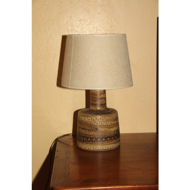 1960s Gordon and Jane Martz Studio Lamp With Original Shade For Sale - Image 11 of 11