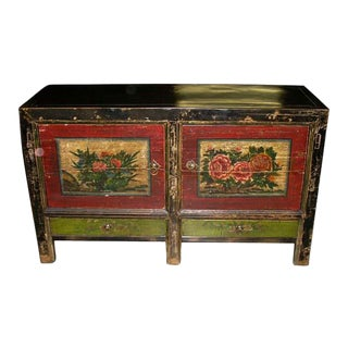 Mongolian Antique Sideboard For Sale