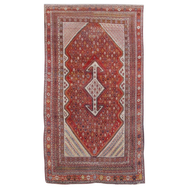 Bakhtiari Persian Rug - 12′ × 21′4″ For Sale