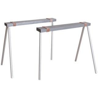 Maarten Van Severen 'Schraag' table base trestle
