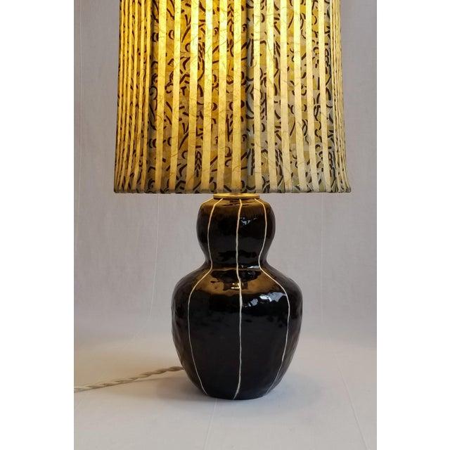 2010s Black Bedside Table Lamp For Sale - Image 5 of 6