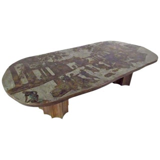 Vintage Philip & Kelvin Laverne Free Form Odyssey II Coffee Table For Sale
