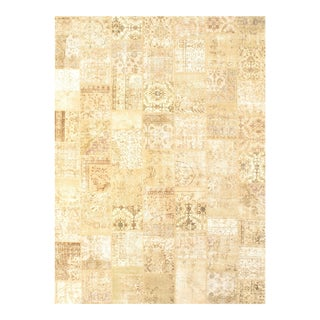 """Pasargad Ny Turkish Patchwork Rug - 9'1"""" X 12'3"""" For Sale"""
