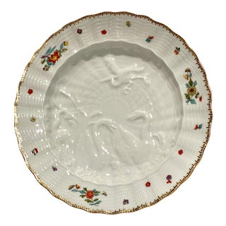 Meissen Swan Service Bread Plate For Sale
