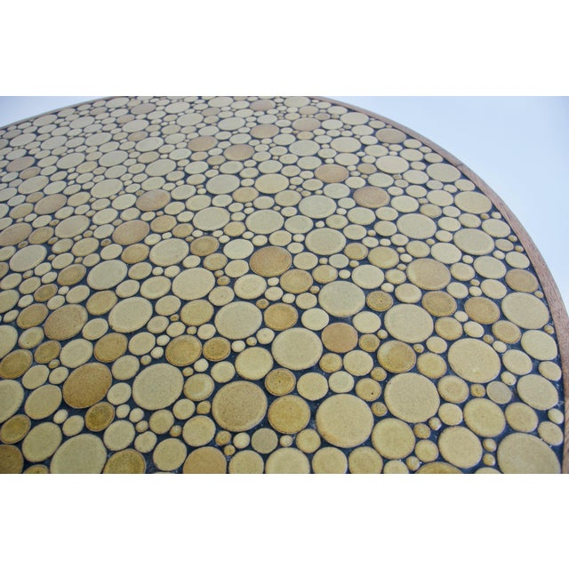Mid 20th Century Ceramic Tile-Top Coffee Table by Gordon and Jane Martz For Sale - Image 5 of 8