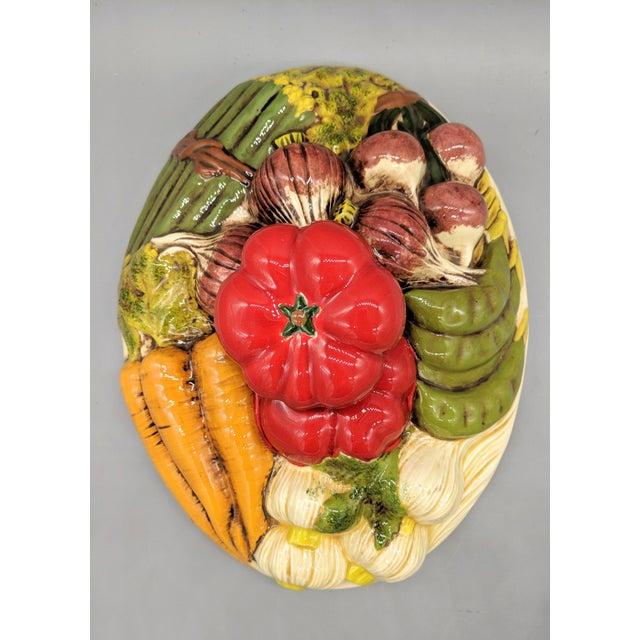 Farmhouse Late 20th Century Trompe l'Oeil Vegetable Casserole Serving Dish For Sale - Image 3 of 9