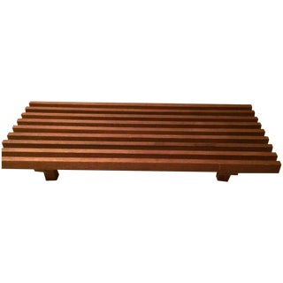 Mid-Century Modern Nelson Style Low Bench