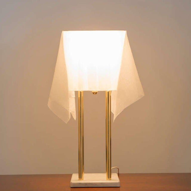 """Modern """"Nefer"""" Table Lamp by Kazuide Takahama for Sirrah For Sale - Image 3 of 10"""