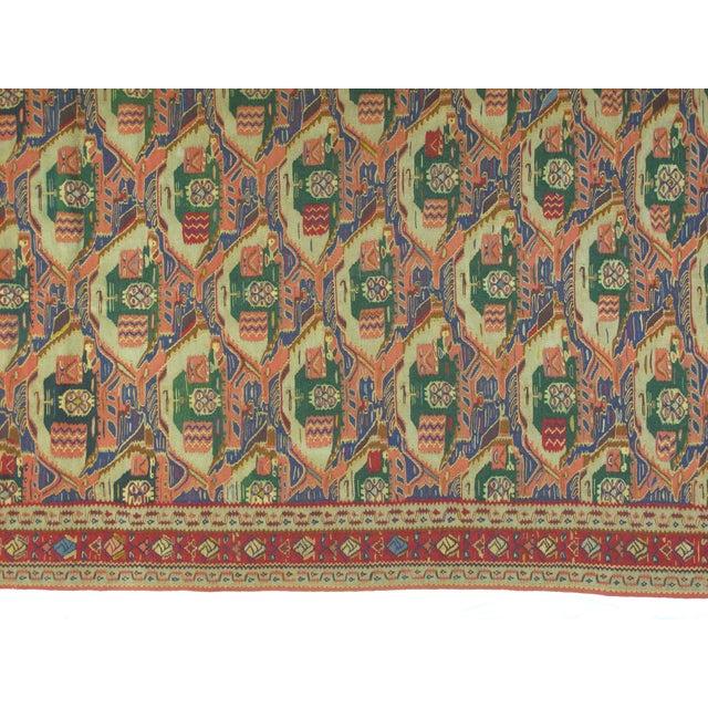 "Islamic Persian Kilim , 10' X 6'5"" For Sale - Image 3 of 4"
