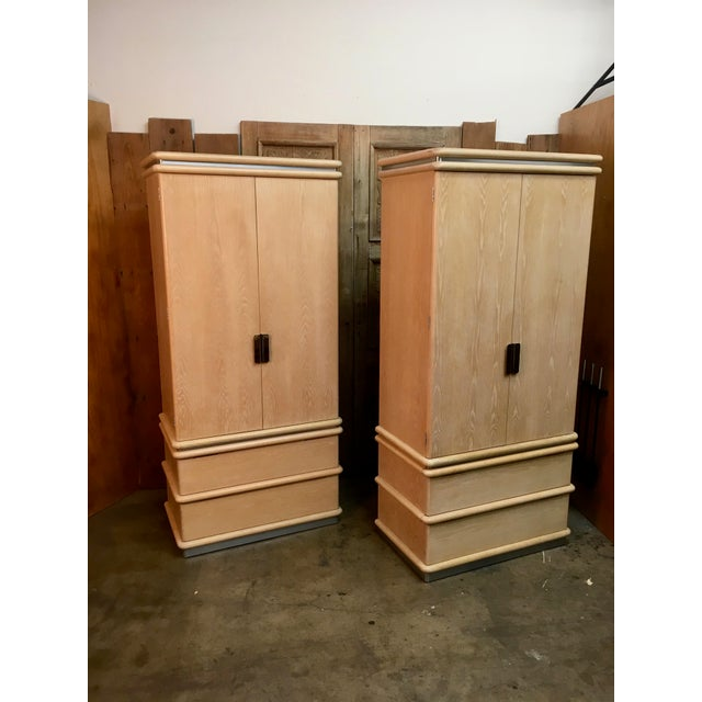 Jay Spectre Armoires - A Pair For Sale - Image 13 of 13