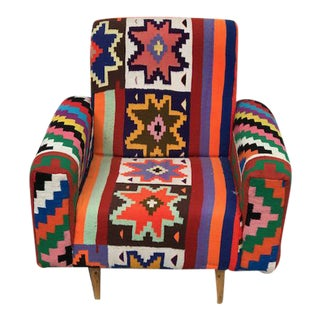 Handmade Turkish Kilim Chair