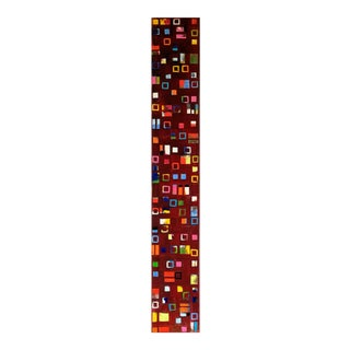 """Abstract Original Artwork """"Insight Red"""" by Petra Ros-Nickel For Sale"""