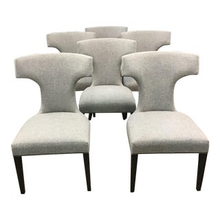 Universal Dining Room Chairs - Set of 6 For Sale