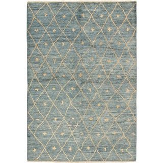 Moroccan Berber Rug - 6′ × 9′ For Sale